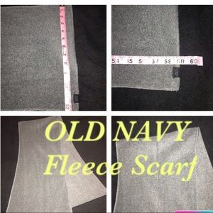 ❄️🌬 Old Navy unisex Fleece scarf 59 inches long🧣